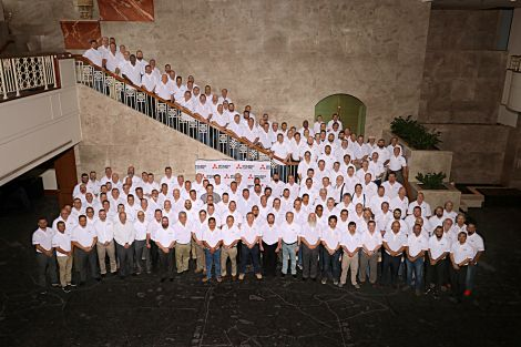 Mitsubishi Electric Cooling U0026 Heating Hosts Annual Diamond Service Group  Conference. DSG Group Picture